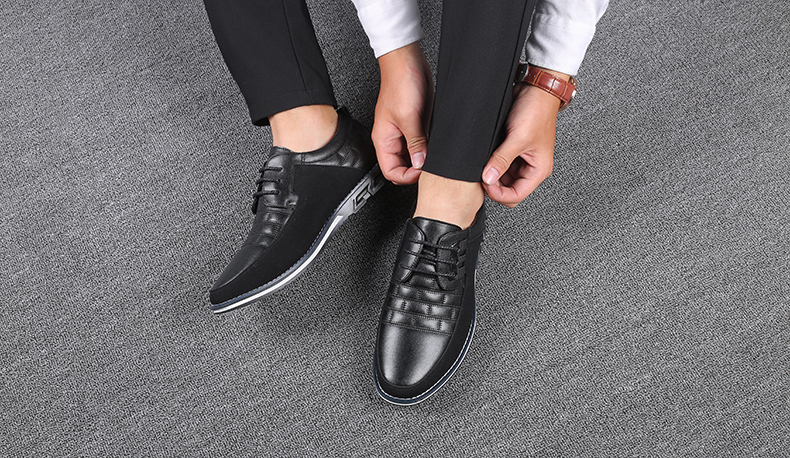 H56645fae4ddf46328b19f7753ff1407as Design New Genuine Leather Loafers Men Moccasin Fashion Sneakers Flat Causal Men Shoes Adult Male Footwear Boat Shoes