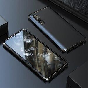 Image 3 - Leanonus Nhôm Kim Loại Ốp Lưng Dành Cho Huawei P30 Ốp Lưng P30 Pro Chống Sốc Full Cover Giáp Funda Cho Huawei P40 Pro ốp Lưng P40