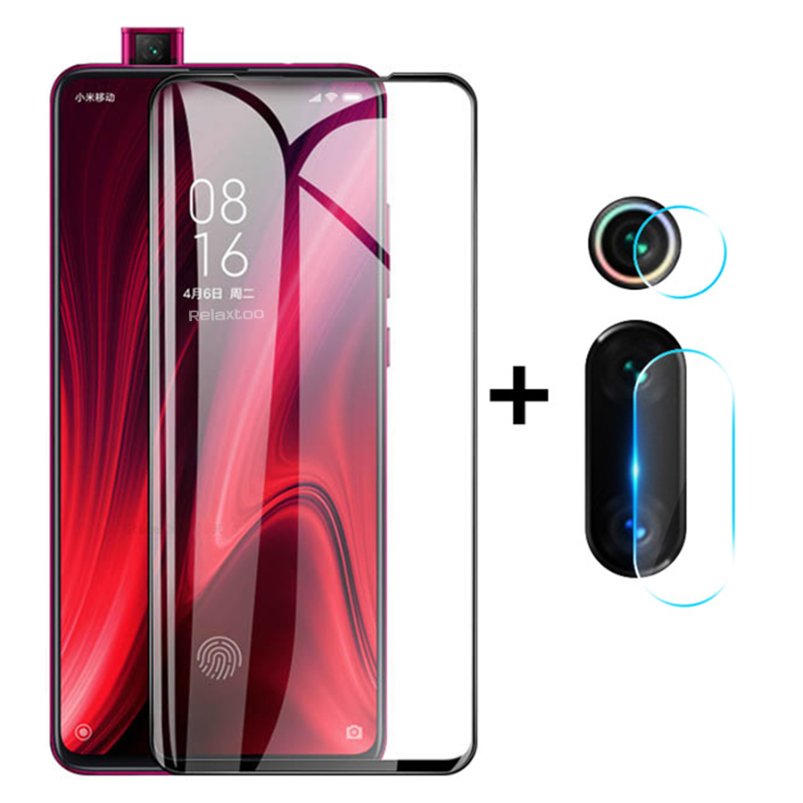<font><b>2</b></font>-in-1 camera lens protective glass for <font><b>xiaomi</b></font> <font><b>mi</b></font> 9t <font><b>screen</b></font> <font><b>protector</b></font> glass on xaomi xiomi mi9tpro <font><b>mi</b></font> 9t pro 9tpro t9 t9pro film image
