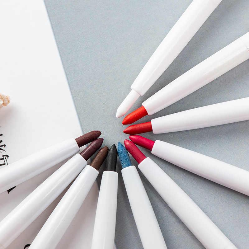 Professionelle Matte Lip Liner Bleistift Set Wasserdichte Langlebige Matte Lipliner Stift Make-Up Kosmetische Werkzeuge kosmetik Lippenstift Stift