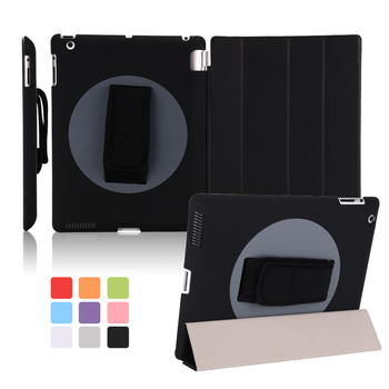 Tablet Case For iPad 9.7 2017/2018 Rotating 360 Handheld Protective Shell PC Smart