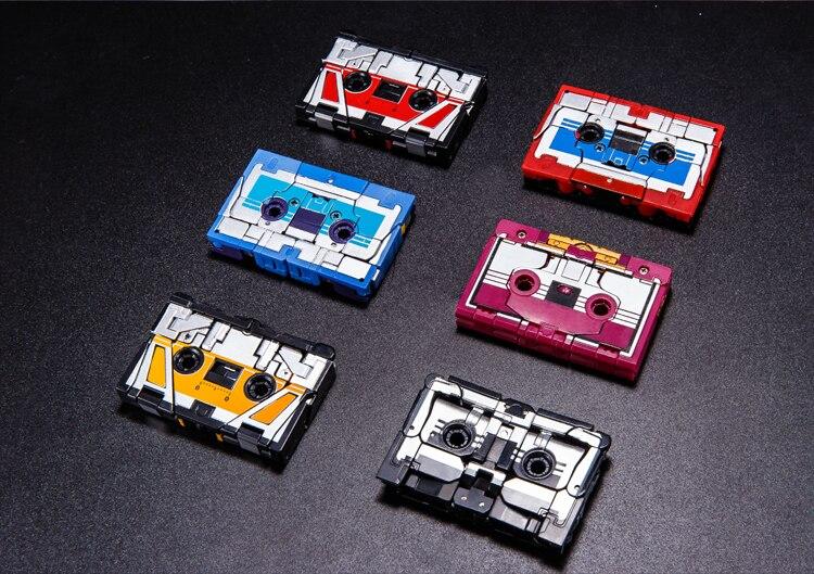 G1 Transformation Soundwave One Tape walkman MasterPiece MP13 Figure Robot Toy