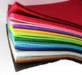 Оптовая продажа, 30 см * 30 см, толщина 3 мм22, цветная Нетканая ткань. Цветная войлочная ткань ручной работы для детского сада, сделай сам