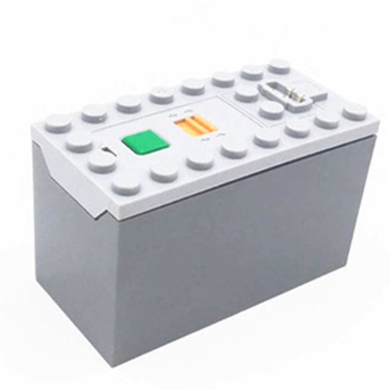 88000 DIY MOC Modified Car Power Functions Motor Set IR RX TX Servo AAA Battery Box Building <font><b>Blocks</b></font> Bricks Kids Compatible image