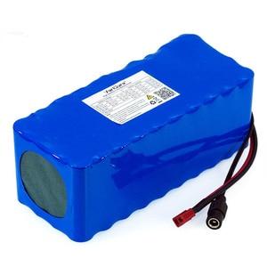 Image 5 - Batería de litio de 36V, 12Ah, 10A, 10,4ah, 18650 mAh, para motocicleta, coche eléctrico, patinete de bicicleta con cargador BMS + 42v 2A