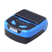 Portable 80mm Bluetooth Thermal Printer Support Android POS Multi-language MAX 70 mm/sec low noise, high speed printing