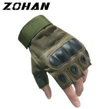 Mens Tactical Gloves Military Army Fingerless  Half finger Outdoor Sports Anti-Slip Shooting Paintball Airsoft Bicycle