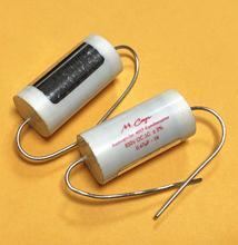2 pces nova alemanha mundorf mcap 0.47 uf 630v capacitor audiophiler m cap mkp 474/630 v áudio acoplamento não polar 470nf 474 630v