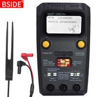 BSIDE ESR02 pro Multi-purpose Transistor Tester Diode Triode Capacitance Resistor Meter LCD ESR meter MOS/PNP/NPN SMD Tester