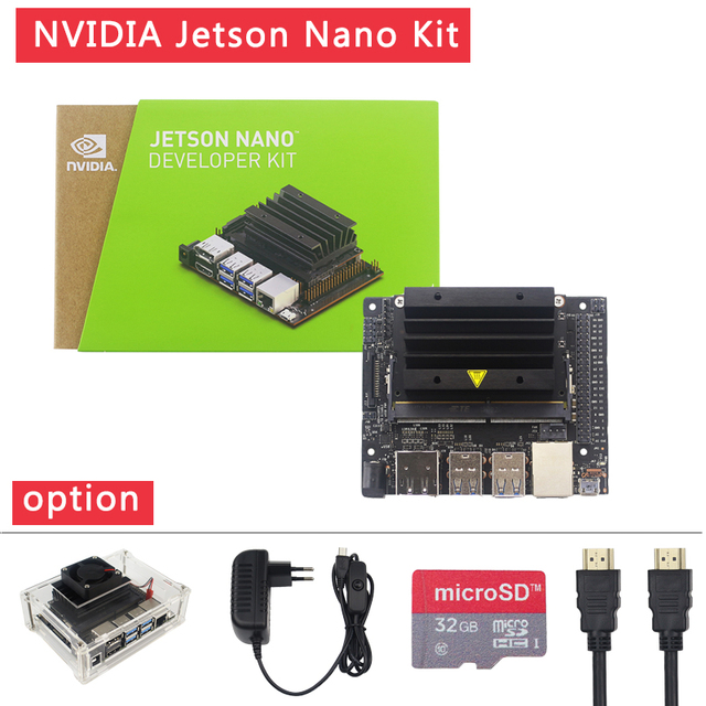 NVIDIA Jetson Nano Developer Kit for Artificial intelligence AI Computing CPU 4GB 64 bit LPDDR4