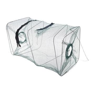 2016 New Folding Fish Minnow Crab Fishing Bait Shrimp Trap Cast Net Cage Fishing, shrimp and crab net cage#50