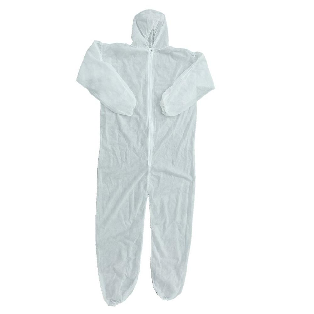 Disposable Coveralls Dust-proof Clothes Isolation Clothes White Labour Suit Universal Nonwovens Security Protection Clothing New