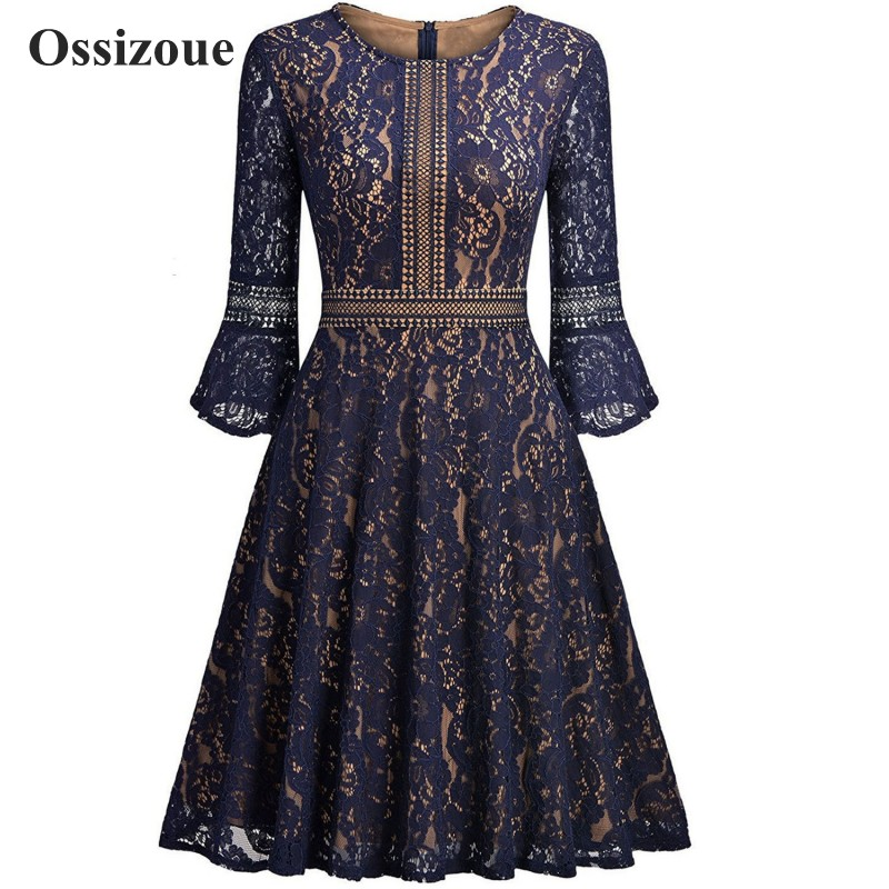 Long Sleeves Lace Mother Of The Bride Dresses Knee Length A Line Formal Evening Party Dress Women YSAN422