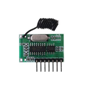 Image 5 - AK 06C kablosuz geniş voltaj kodlama verici çözme alıcı 4 kanal çıkış modülü 315/433Mhz uzaktan kumanda