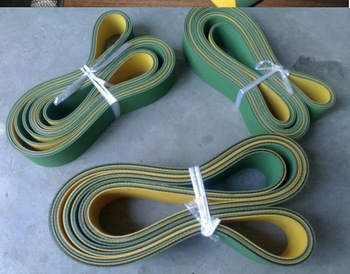 2x30x1250mm yellow green nylon…