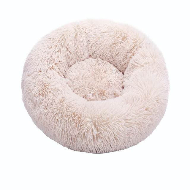 Round Cat Beds House Soft Long Plush Best Pet Dog Bed For Dogs Basket Pet Products Cushion Cat Bed Cat Mat Animals Sleeping Sofa 3