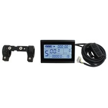 Electric Parts 24V 36V 48V Intelligent KT LCD3 Electric Bicycle Bike E Bike Controller LCD Panel Ebike LCD Display(China)