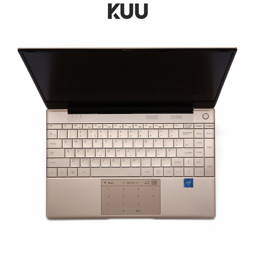 KUU Italian keyboard For Intel J4115 14 1-inch IPS Screen All Metal Shell Office Notebook 8GB RAM 512GB SSD with type C laptop