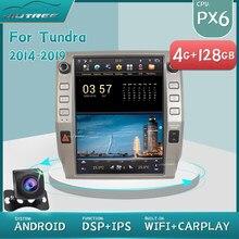 Touch Vertikale Bildschirm PX6 Android 2 din Autoradio Für Toyota Tundra 2014-2019 Auto Multimedia-Player Autoradio Gps navigation