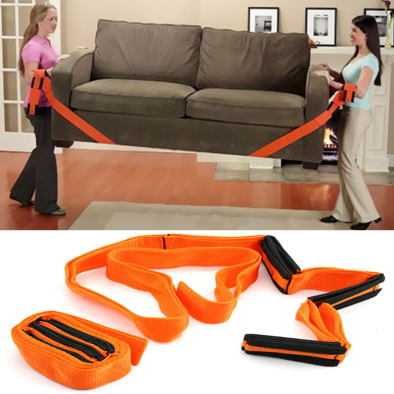 Móveis em movimento cinta antebraço forklift levantamento cinto de transporte correias de pulso mais fácil transportar corda casa conveniente ferramenta movimento doméstico