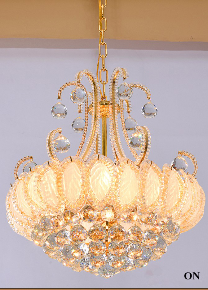 Cheap round crystal chandelier