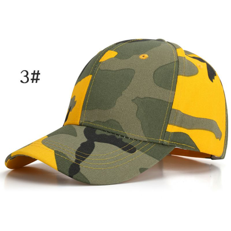 10 Colors Army Camouflage Baseball Cap Tactical Caps Outdoor Sport Training Hat Jungle Hunting Hats For Men