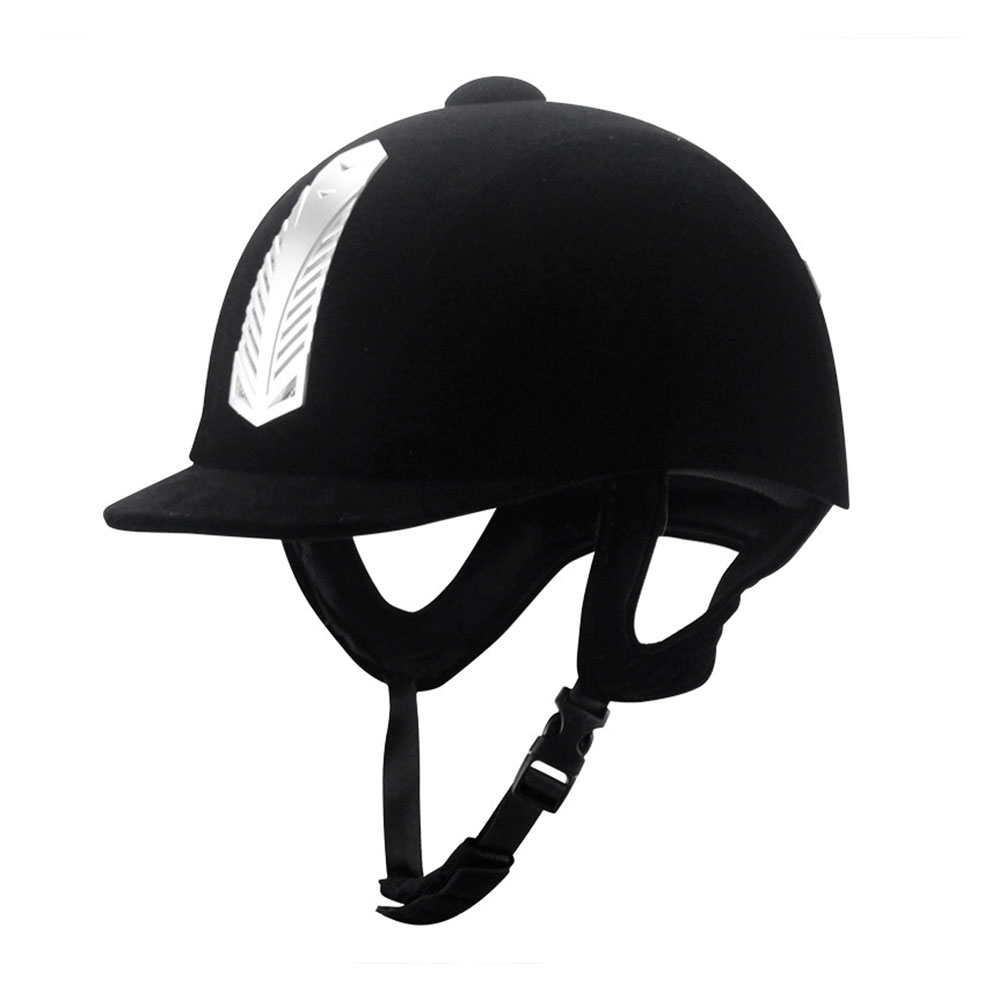 Women Men Equestrian Helmet Anti Impact Adult Breathable Guard Equipment Safety Cap Horse Riding Professional Sports Half Cover