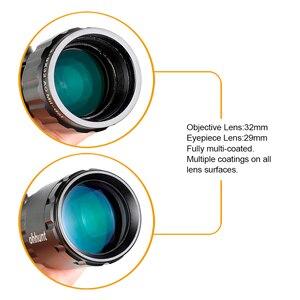 Image 5 - Ohhunt 3 9x32 AO קומפקטי ציד אופטיקה 1/2 חצי Mil דוט Reticle Riflescopes צריחי נעילת עם שמש צל טקטי רובה היקף