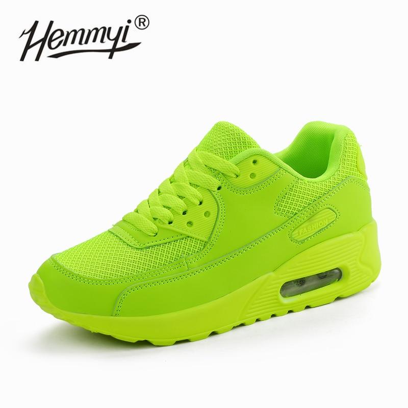 Hemmyi Women Sneakers Summer Breathable Mesh Brand Shoes For Woman Black Green Red Tenis Feminino Ladies Shoe Basket Femme