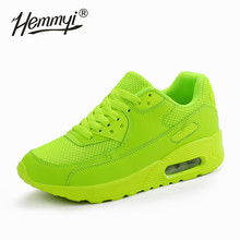 Hemmyi Women Sneakers Summer Breathable Mesh Brand Shoes for Woman Black Green Red Tenis Feminino Ladies Shoe Basket Femme(China)