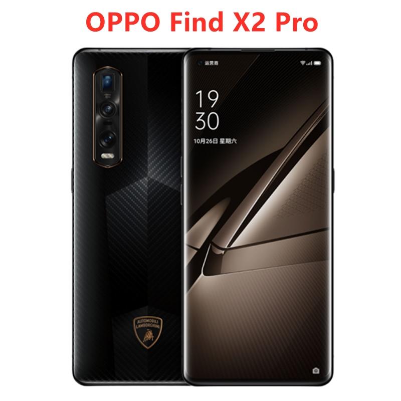 Original Offizielle OPPO Finden X2 Pro 5G Smartphone 6,7 inch Snapdragon 865 12GB 512GB Hinten Kamera 48MP + 48MP + 13MP 4260mAh NFC