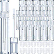30pcs Plastic Lip Gloss Tube DIY Lip Gloss Containers Bottle Empty Cosmetic Container Makeup Tool