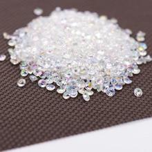 1000PS 4,2 мм Акриловые Алмазные конфетти декор для венчания ремесла алмазные конфетти Разбрасыватели конфетти для стола прозрачные Кристальные центральные Вечерние