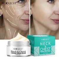 AuQuest Neck and Chest Cream Dry Crepe Skin Repair Firming Super Cream Anti Aging Lifting Hyaluronic acid Essential Skin Care