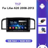 La Radio del coche reproductor estéreo para Lifan 620/solano 2008-2013 soporte HD cámara de Vista trasera DVR Bluetooth música ADAS de navegación GPS