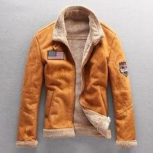 2021 homens casaco de inverno engrossar quente jaqueta de lã veste homme parkas vintage outwear à prova de vento jaqueta masculina streetwear 4xl