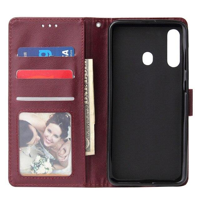 For Samsung A52 A72 A71 A02S A11 A12 A21S A31 A32 A41 A42 A51 A71Flip Leather Wallet Case For Galaxy A52017 A6 A7 A8 2018 Case 3