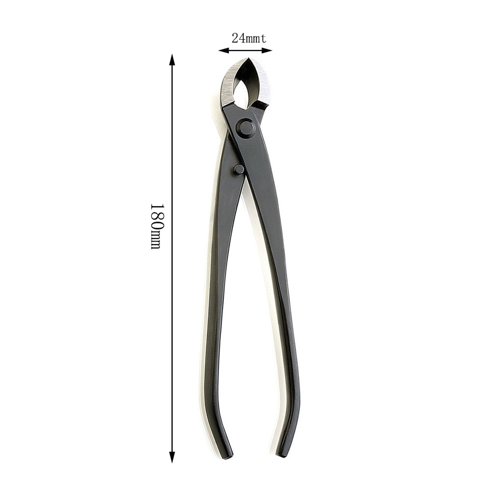Cutter 180 Edge Beginner Branch Mm Cutter And Steel  Round As Carbon Knob Multi Bonsai Function  Cutter Grade Tools