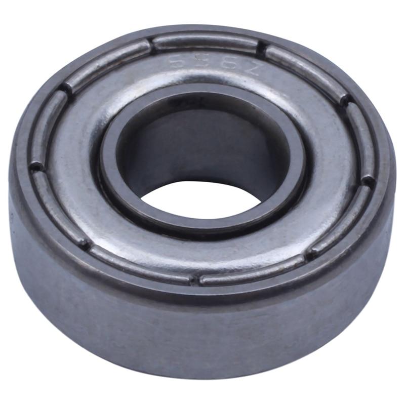Spor ve Eğlence'ten Rulmanlar'de NEW 6x15x5 mm kaykay rulmanlar çelik minyatür sabit bilyalı rulman 696Z 696ZZ Model 10 paket title=