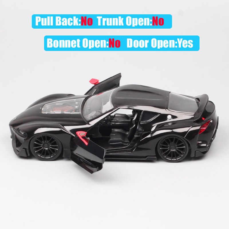 Lujo de gran escala 1:24 Jada el Toyota FT-1 concept car toys metal auto Diecast híbrido vehículo deportivo modelo para niños