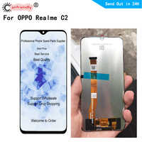 6.1 inch LCD for OPPO Realme C2 LCD display touch panel screen digiziter sensor assembly for OPPO RMX1941 lcds replacement parts