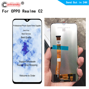 6.1 inch LCD for OPPO Realme C2 LCD display touch panel screen digiziter sensor assembly for OPPO RMX1941 A1K lcds replacement