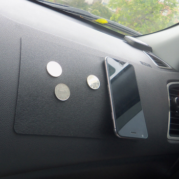 Auto Anti Slip Matte Ornament Silikon Automobile Dashboard doppelseitige Nicht-Slip Sticky Pad Für Telefon Sonnenbrille Halter zubehör