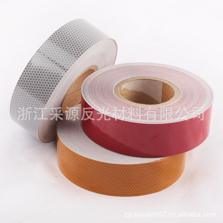 SOURCE Manufacturers Traffic Only Pet Intensive Class 1100 Reflective Film Micro Prism Reflective Material Honeycomb