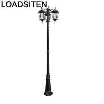 Farola Strassenbeleuchtung Tuinlamp квадратный стиль Lampadaire Led Off Luminaire Exterieur лампа уличная дорожная лампа