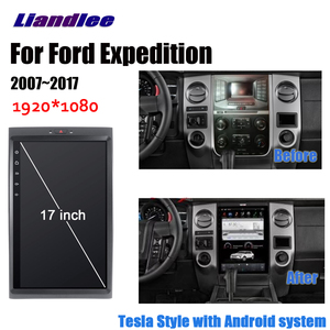 Liandlee Android для Ford Expedition 2007 ~ 2017 стерео автомобиль Tesla вертикальный экран Carplay BT gps Navi навигационная карта камера медиа
