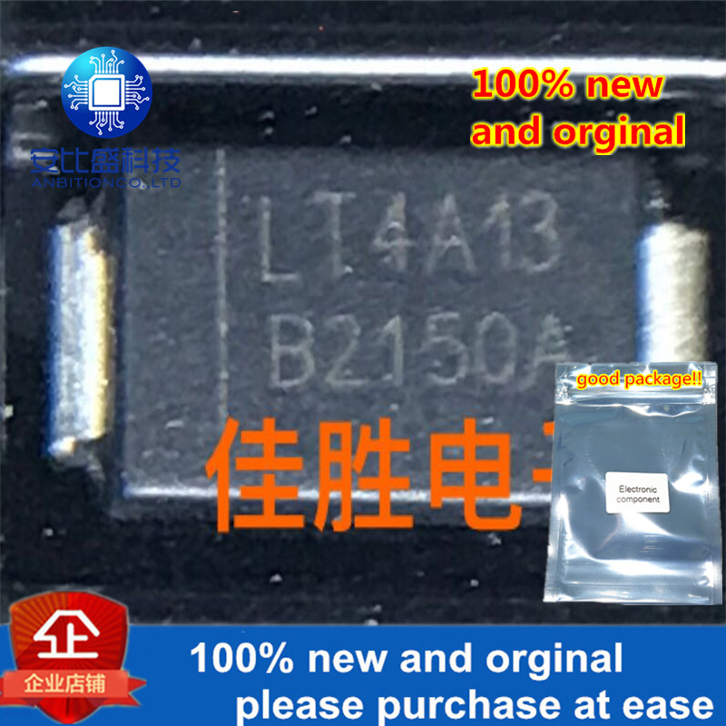 30pcs 100% New And Orginal 2A150v DO214AC Silk-screen B2150A  In Stock