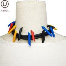Ukebay Новые ожерелья Чокеры для женщин ювелирные изделия ручной