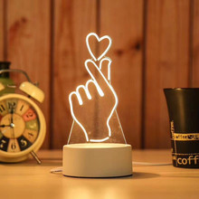 3D LED Lamp Creative 3D LED Night Lights Novelty Illusion Night Lamp 3D Illusion Table Lamp For Home Decorative 3d лампа 3d lamp утенок