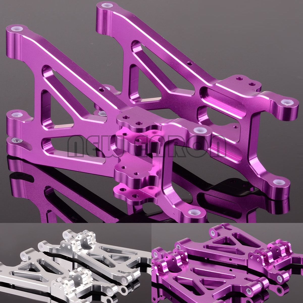 NEW ENRON 2P Aluminum Suspension A-ARMS SAX055 FOR HPI 1/8 1:8 SAVAGE 21 25 SS 4.6 5.9 X XL FLUX